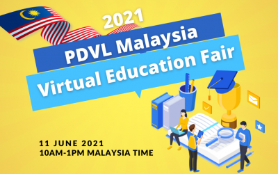 PDVL Virtual Malaysia Education Fair 2021 – Book for consultation (11 June )