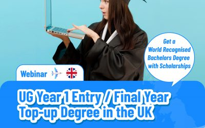 UK UG Year 1 Entry / Final Year Top-Up Degree    Jan/Sep 2022 Intake  (7 October 2021)