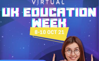 UK Education Week (8-10 October 2021)